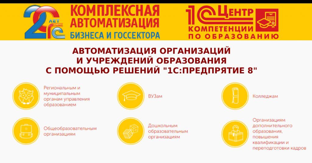 1С Центр компетенции по образованию Глобал Софт Краснодар